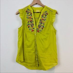 Maeve *Anthropologie* Blouse